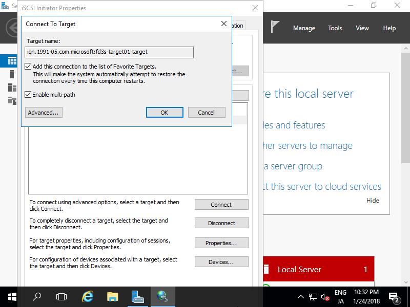 Windows Server 2016 : WSFC : Configure : Server World
